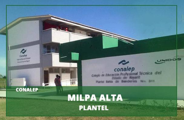 Plantel Conalep Milpa Alta